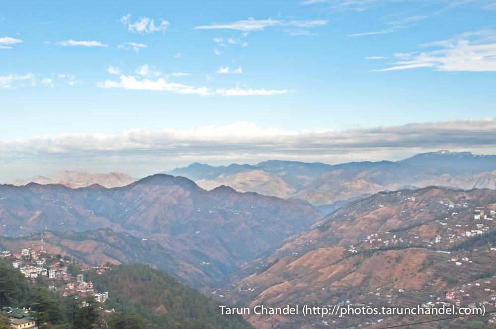 Shimla Valley Himachal, Tarun Chandel Photoblog