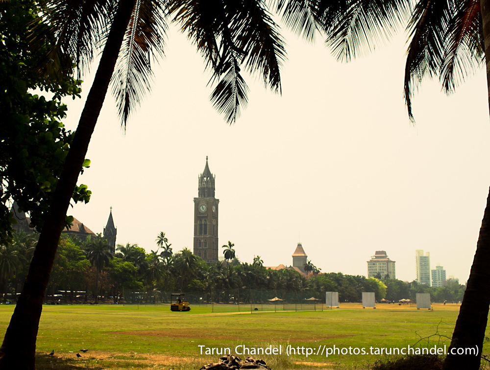 The Oval Mumbai University Tower Clock Mumbai, Tarun Chandel Photoblog
