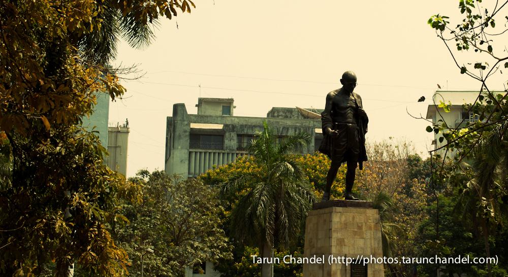 Gandhi, Tarun Chandel Photoblog