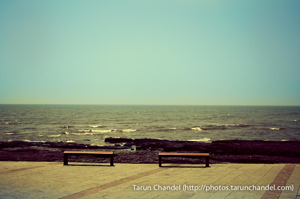 Mumbai Sea Front Bandra Bandstand, Tarun Chandel Photoblog