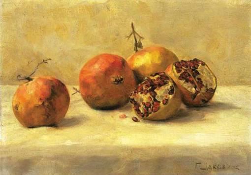 Γιώργος Ιακωβίδης, Ρόδια. 1920-1932. Εθνική Πινακοθήκη..jpg