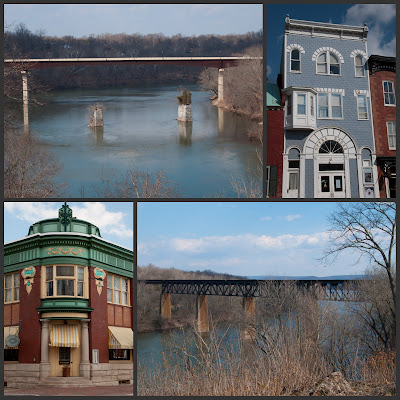 Potomac River views and old buildings