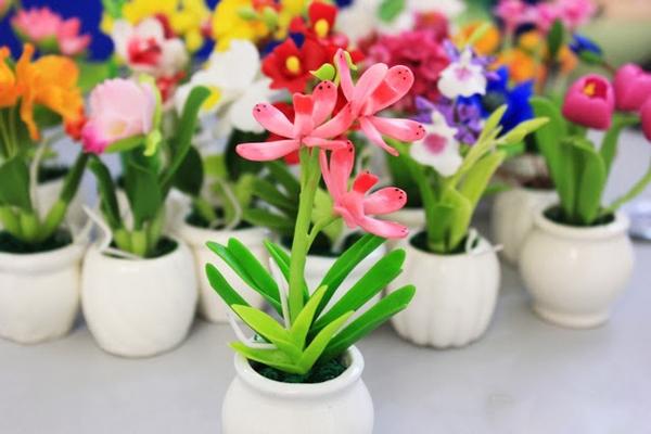 hoa giả đẹp