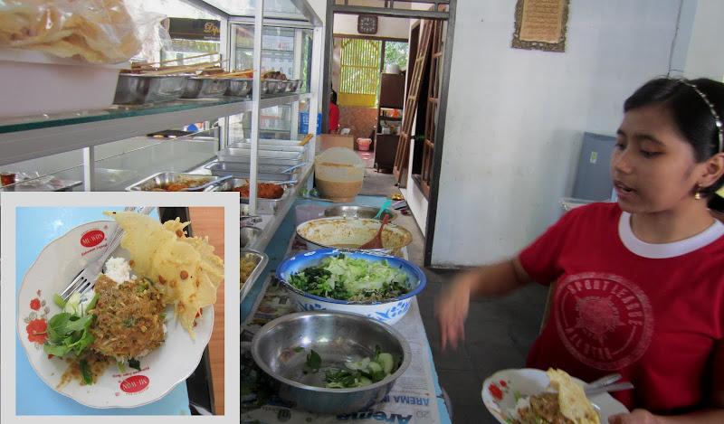 Печел, pecel, индонезийская кухня