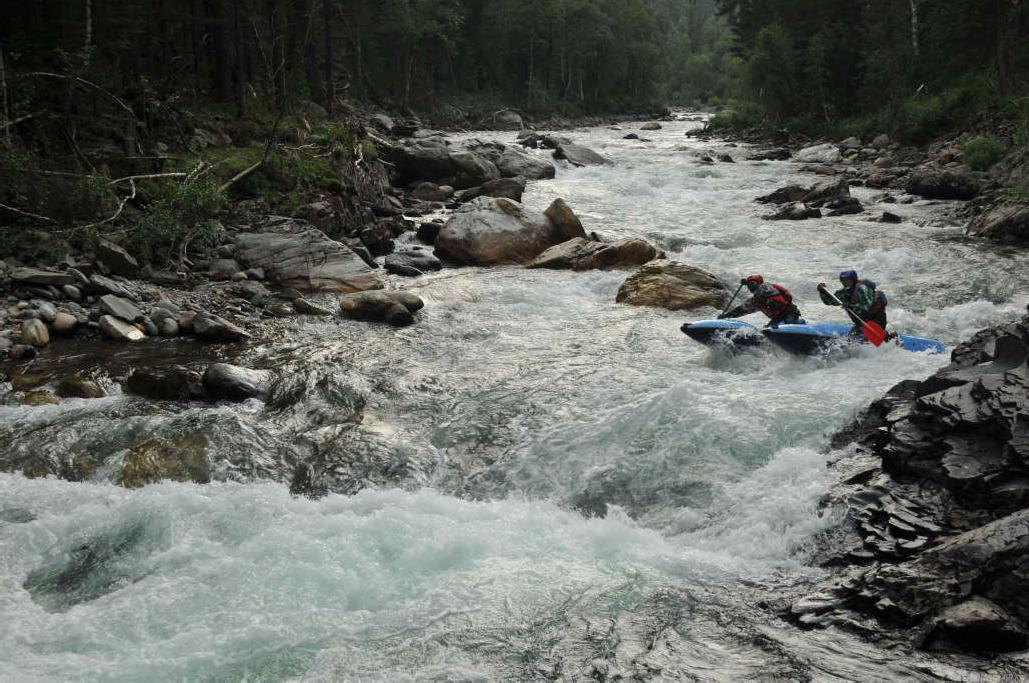 Отчет о водном походе 4 к.с. по рекам Кумир-Коргон-Чарыш