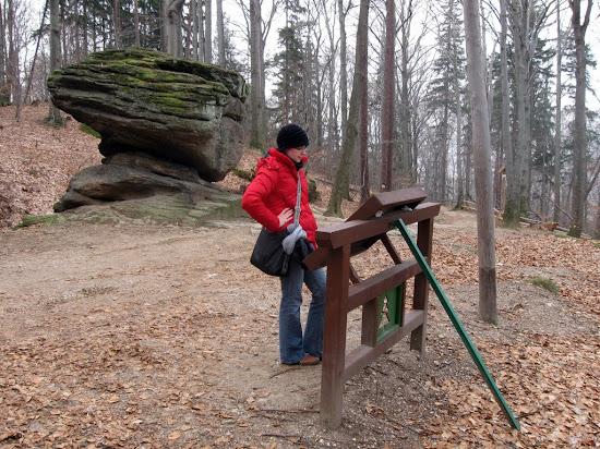 wzgórze Chojnik - skalny grzyb