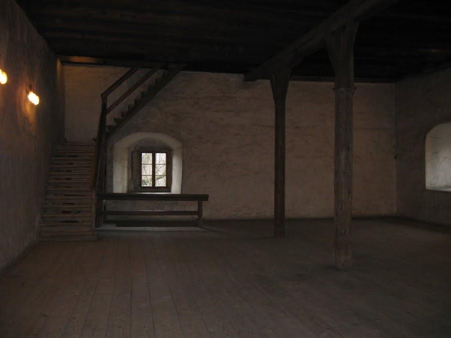 siedlęcin - wieża rycerska wnętrze