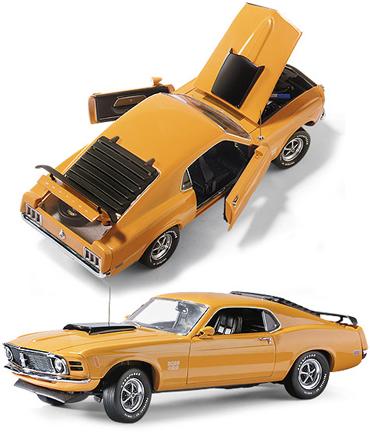 Franklin Mint 1970 Ford Mustang Boss 429 Diecast 1 24 B11E846