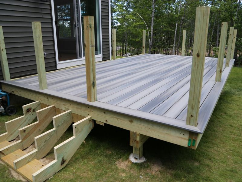 how much to spend on decking