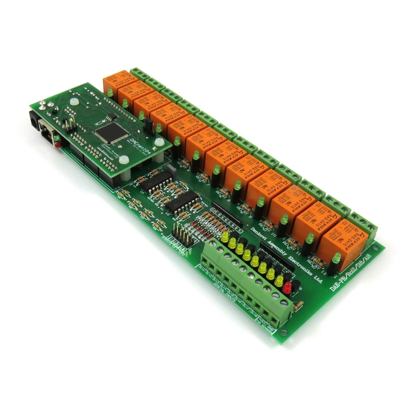 Relay I/O Controller Board