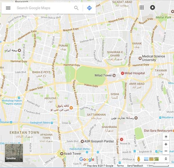 ثبت کسب و کار در گوگل مپ / استودیو سیانو