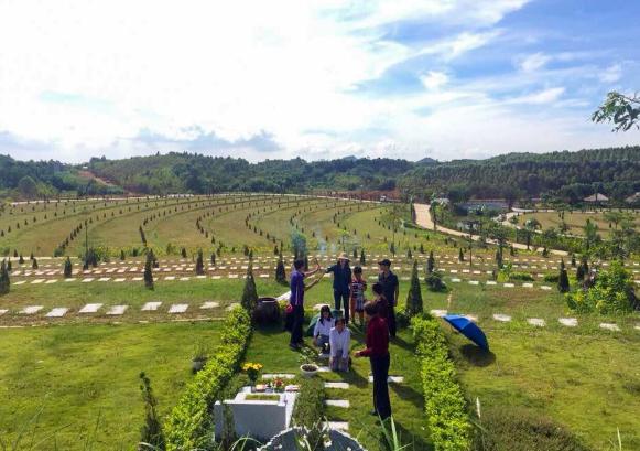 Giá đất nghĩa trang phụ thuộc vào rất nhiều các yếu tố khác nhau