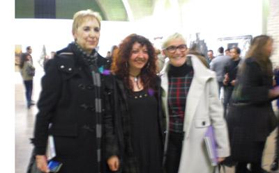 Carmen Palacios, Olga Esther y Natividad Navalón