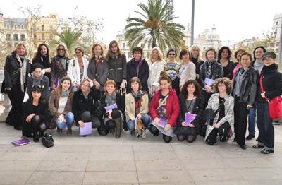 """Presentación el día 8 de marzo por la mañana en el Ayuntamiento de Valencia de la exposición """"Femenino Plural 1999-2011"""""""