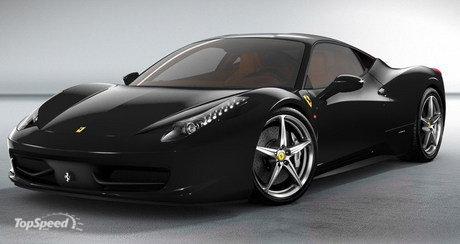 Classic Ferrari 458 Car