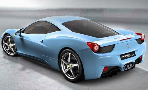 Ferrari 458 Car Images