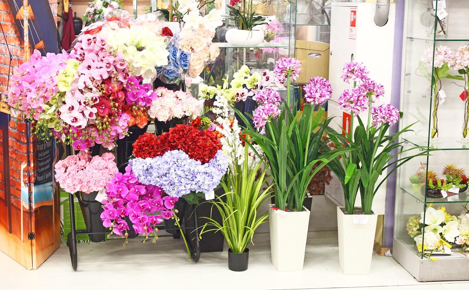 Купить искусственные цветы сочи, интернет магазин