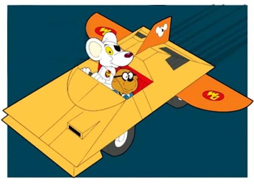 Danger Mouse (Gambar 2). Koleksi kartun Danger Mouse (Gambar 2