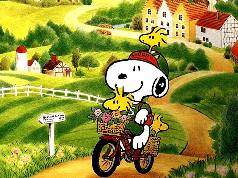 Snoopy Cartoon Picture 3
