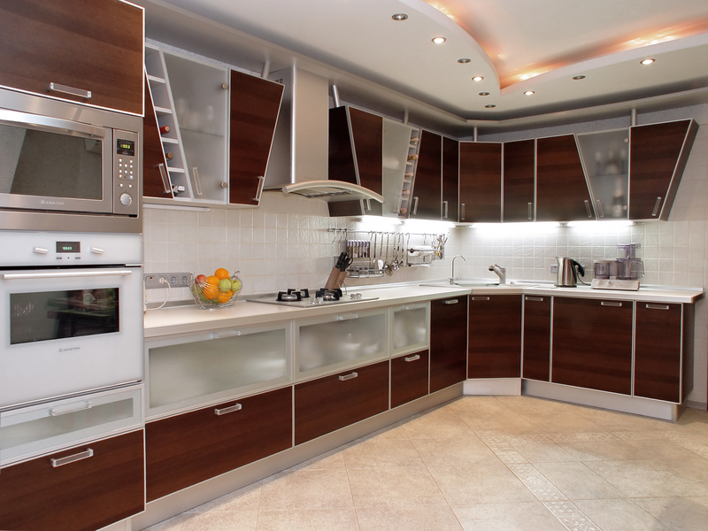 Tengase Presente: Increíbles estilo de modernos gabinetes de cocina.
