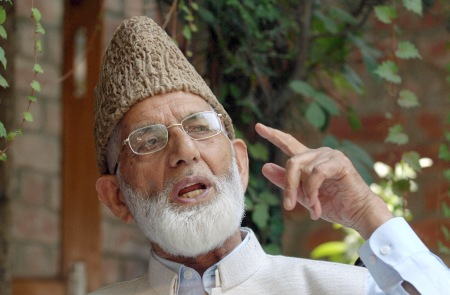 India arrested Geelani on attempting to return home