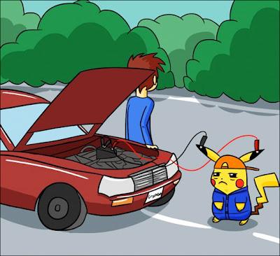 chupetadopikachu Pikachu Autoservice