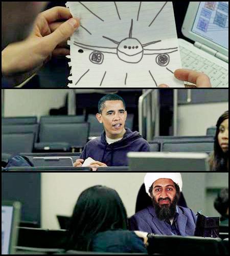 obama osama Osama não morreu
