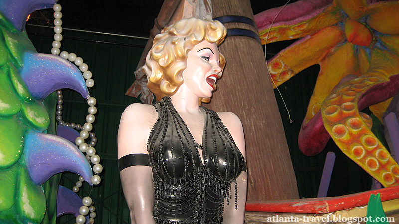 Мир Марди Гра в Новом Орлеане - Mardi Gras World