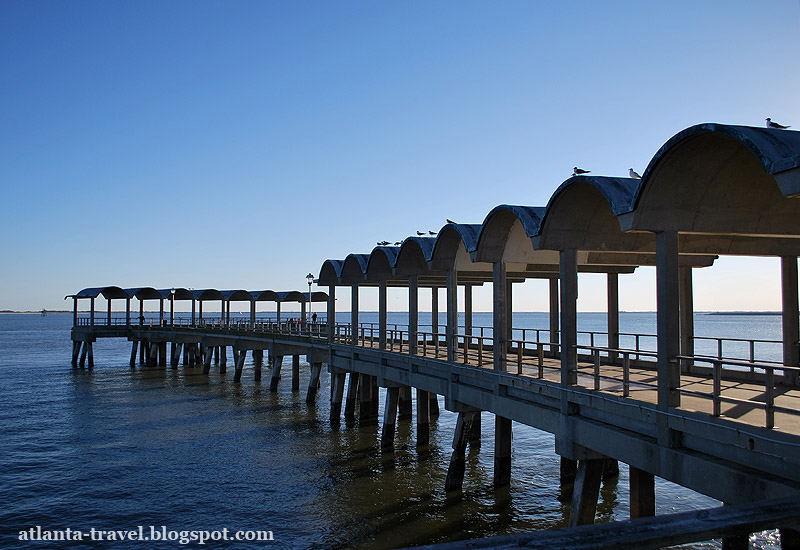Джекилл Айленд - Jekyll Island - Пляжи Джорджии