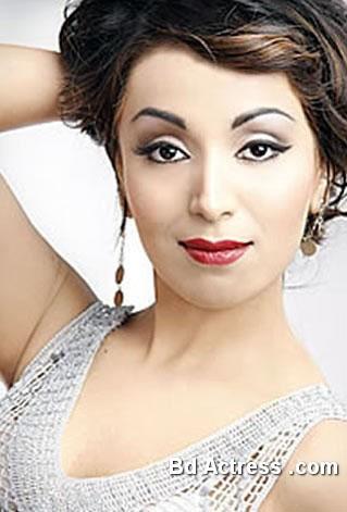 Pakistani Model Batool Cheema face