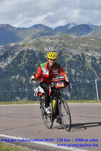 Ötztaler radmarathon / bicycle marathon / Jaufenpass: Györgyi Gábor