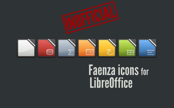Faenza Icon Faenza Icon สำหรับ Libreoffice