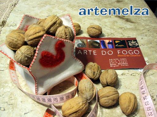 artemelza - cestinha com feltragem