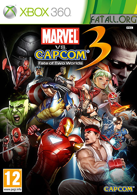 Marvel vs. Capcom 3: Fate of Two Worlds (2011/RF/ENG/XBOX360)