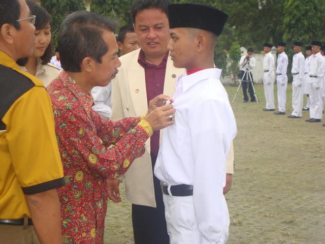Pelantikan Paskibra SMAN 3 Unggulan Kayuagung 2011