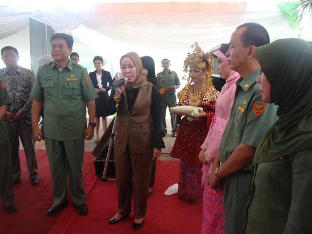 Purna Wisuda Angkatan IX SMAN 3 Unggulan Kayuaguang Kab. OKI Sumatera Selatan - Hj. Tartila Ishak Mekki