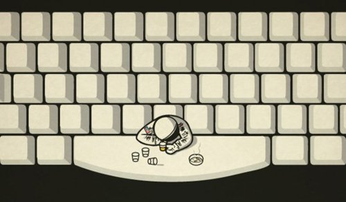 Where astronauts drink...