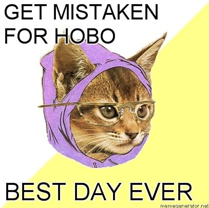 Oh that Hipster Cat...