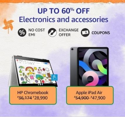 Amazon Great Freedom Sale Electronics & Accessories