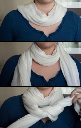 How To Tie A Scarf | Second Snack