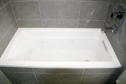 Finally Within The Shower Enclosure We Have Kohler Archer Jetted Tub With Its Own Filler This Is Probably Only Affordable And Reasonably Modern