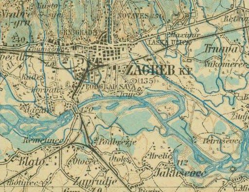 Nepoznati zagreb karta zagreba iz 1910 godine altavistaventures Image collections