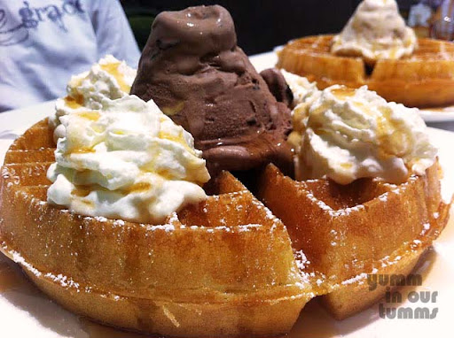 waffle ice-cream gelare