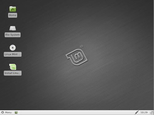 Linux Mint Xfce 201104
