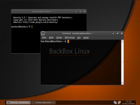 BackBox Linux 1.05