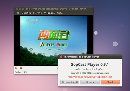 Sopcast Player 0.5.1
