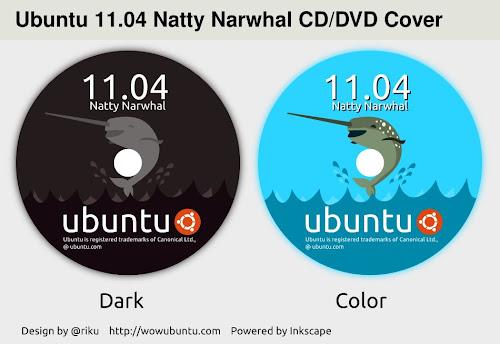 Ubuntu Natty CD DVD Cover