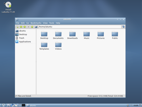 Lubuntu 11.04 Natty Narwhal
