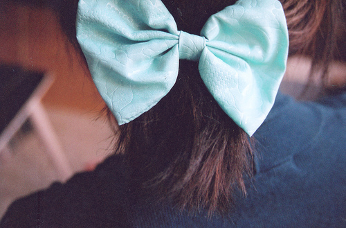 Bows from head to toe