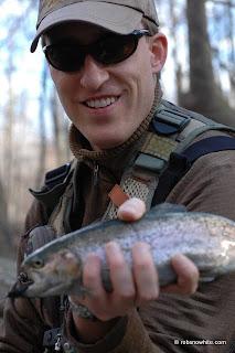 rainbow trout holmes run
